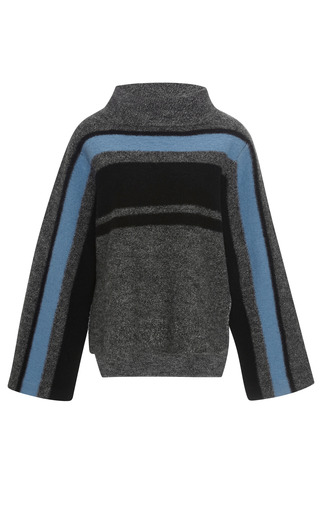Boiled Wool Cape Pullover by TIBI for Preorder on Moda Operandi