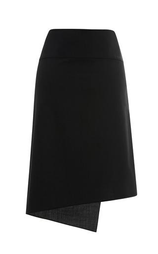 Edie Tropical Wool Asymmetrical Skirt by TIBI for Preorder on Moda Operandi
