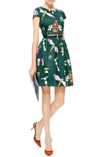Julie Printed Cotton Dress by MARY KATRANTZOU Now Available on Moda Operandi
