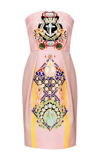 Medium mary katrantzou pink olympia dress