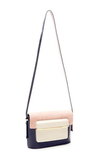 Mvk Medium Suede Shoulder Bag by MARY KATRANTZOU Now Available on Moda Operandi