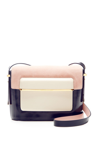 Mvk Medium Suede Shoulder Bag by MARY KATRANTZOU Now Available on Moda Operandi