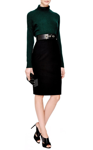 Wide Leather Waist Belt by CARVEN Now Available on Moda Operandi