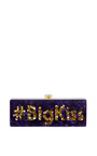 Edie Parker #Bigkiss Flavia Clutch by EDIE PARKER for Preorder on Moda Operandi