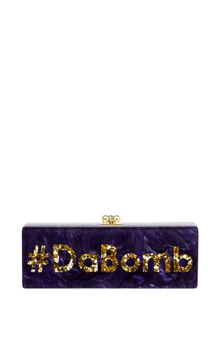 Edie Parker #Dabomb Flavia Clutch by EDIE PARKER for Preorder on Moda Operandi
