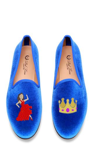 Medium del toro blue del toro dancing queen loafer