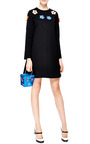 Take Me Away Embroidered Satin Clutch by CHARLOTTE OLYMPIA Now Available on Moda Operandi