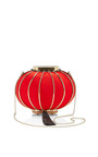 Lantern Satin And Metal Tasseled Clutch by CHARLOTTE OLYMPIA Now Available on Moda Operandi