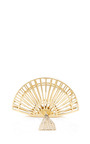 Fantastic Tasseled Metal Clutch by CHARLOTTE OLYMPIA Now Available on Moda Operandi