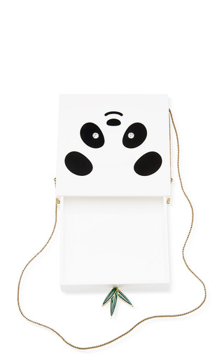 Bao Bao Panda Perspex Clutch by CHARLOTTE OLYMPIA Now Available on Moda Operandi