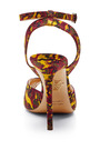 Sophia Printed Crepe De Chine Sandals by CHARLOTTE OLYMPIA Now Available on Moda Operandi