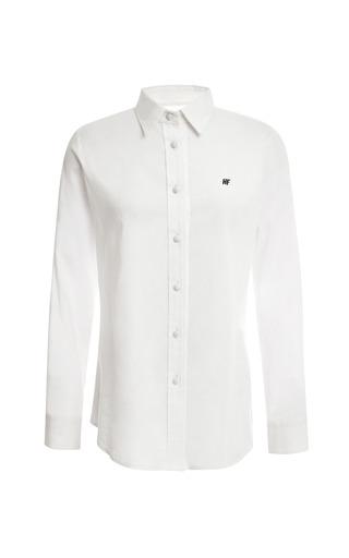 Harvey Faircloth Long Sleeve Boyfriend Club Collar Shirt by HARVEY FAIRCLOTH for Preorder on Moda Operandi