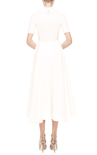 Wool Crepe Midi Dress by EMILIA WICKSTEAD Now Available on Moda Operandi