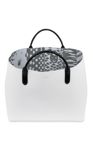 Limited Edition Quentin Jones Large Classic Tote by SMYTHSON for Preorder on Moda Operandi