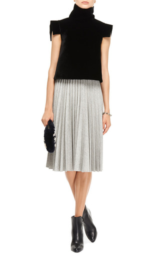 Pleated Skirt by J.W. ANDERSON Now Available on Moda Operandi