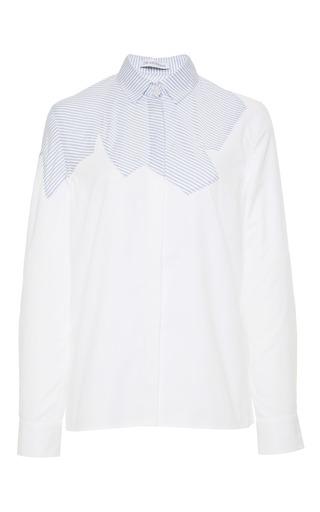 Medium j w anderson multi cut out shirt