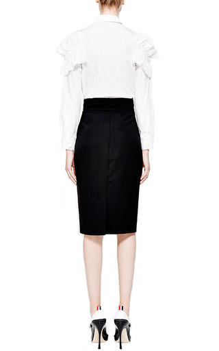Ruffled Cotton Shirt by SIMONE ROCHA Now Available on Moda Operandi