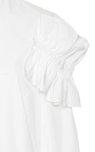 Ruffled Cotton Shirt by SIMONE ROCHA Now Available on Moda Operandi