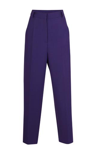 Medium barbara casasola purple purple wool suit trouser