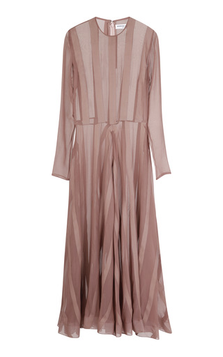 Medium barbara casasola nude nude silk dress