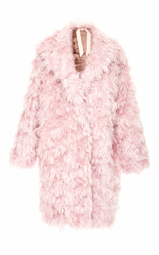 Medium no 21 pink pink cesira mohair coat 2