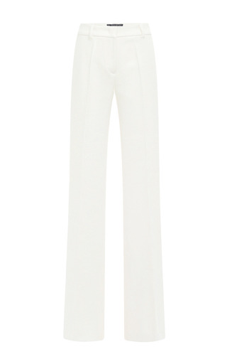 Medium derek lam white long flared legged trousers