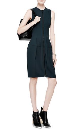 Zipper Front Jersey Dress by DEREK LAM Now Available on Moda Operandi