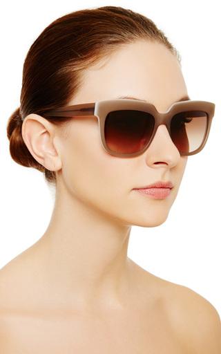 D Frame Acetate Sunglasses by MARNI Now Available on Moda Operandi