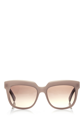 Medium marni dark grey taupe frame sunglasses