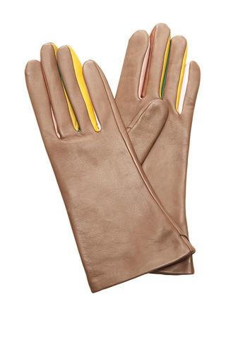 Medium rodarte brown taupe multi color gloves