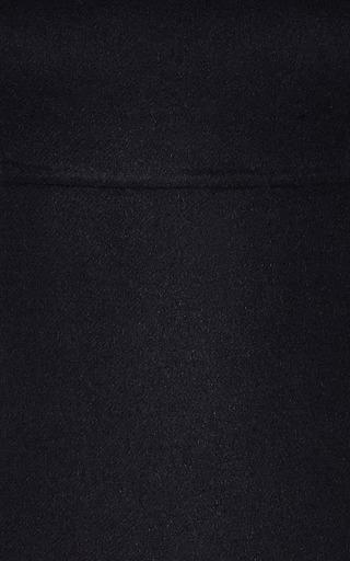 Double Face Wool Blend Midi Dress by ROCHAS Now Available on Moda Operandi