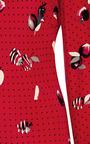 Andrea Printed Silk Satin Dress by PIAMITA Now Available on Moda Operandi