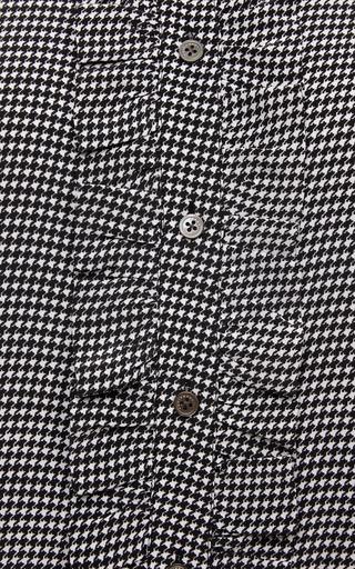 Blake Ruffled Washed Silk Shirt by EQUIPMENT Now Available on Moda Operandi