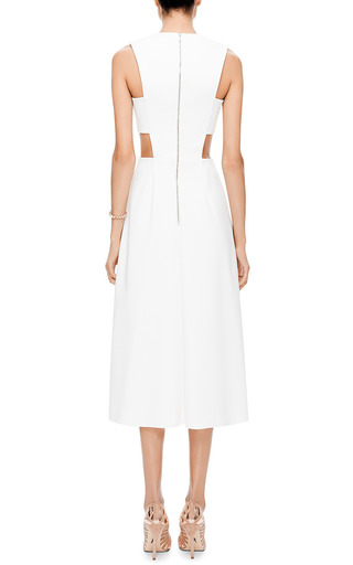 M'o Exclusive: Stretch Jersey Cut Out Dress by JOSH GOOT Now Available on Moda Operandi