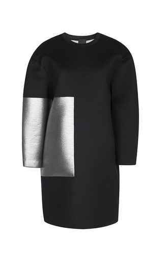 Medium josh goot black silver frame basic dress 2
