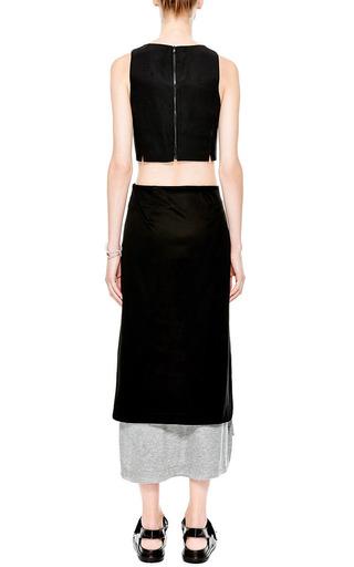 Layered Midi Skirt by JOSH GOOT Now Available on Moda Operandi