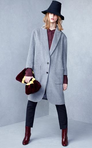 Imogen Silk Polo Blouse by KULE for Preorder on Moda Operandi