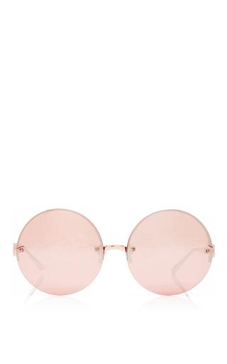 Medium linda farrow pink linda farrow rose gold with rose gold lenses