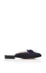 Cici Tassled Flannel Flats by OSCAR DE LA RENTA Now Available on Moda Operandi