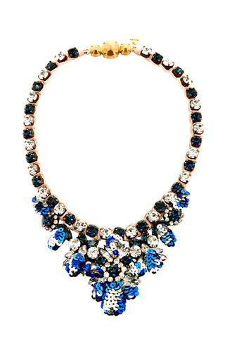 Medium shourouk multi mini theresa sequins montana necklace