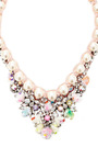Theresa Gold Plated, Crystal, Sequin And Pearl Necklace by SHOUROUK Now Available on Moda Operandi