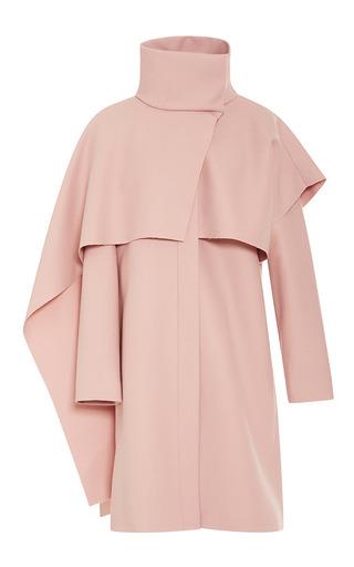Medium thakoon pink funnel neck scarf coat 2