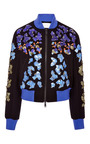 Lex Embellished Bomber Jacket by PETER PILOTTO Now Available on Moda Operandi