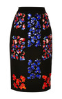 Cam Embellished Wool Crepe Skirt by PETER PILOTTO Now Available on Moda Operandi