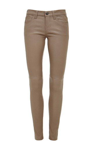 The Ankle Skinny Leather Jeans by CURRENT/ELLIOTT Now Available on Moda Operandi