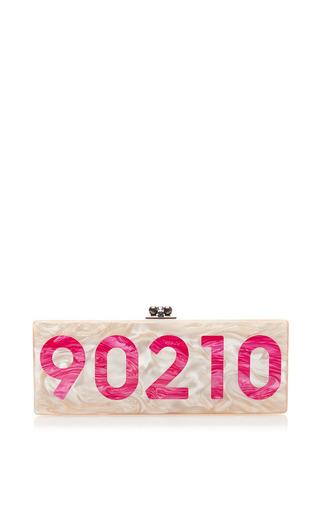 Medium edie parker pink mo exclusive 90210 flavia clutch