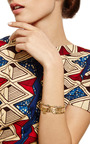 18 K Yellow Gold Panther Cuff by MARC ALARY for Preorder on Moda Operandi