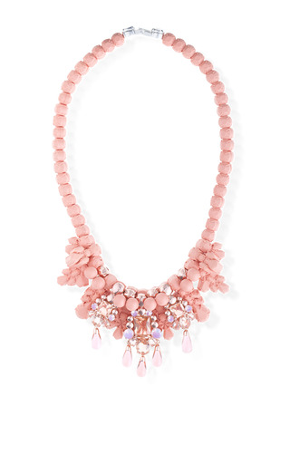 Medium ek thongprasert coral fouette necklace