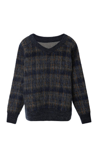 Medium brock dark grey smile sweater