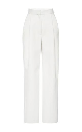 Medium brock ivory tape trouser